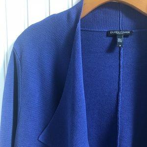 Eileen Fisher Silk Blend Open Sweater